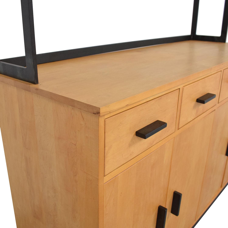 buy Room & Board Room & Board Credenza with Open Hutch online