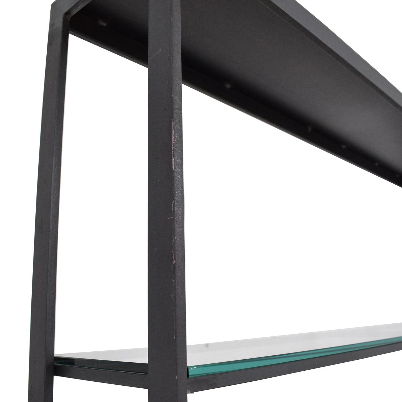 shop Room & Board Credenza with Open Hutch Room & Board