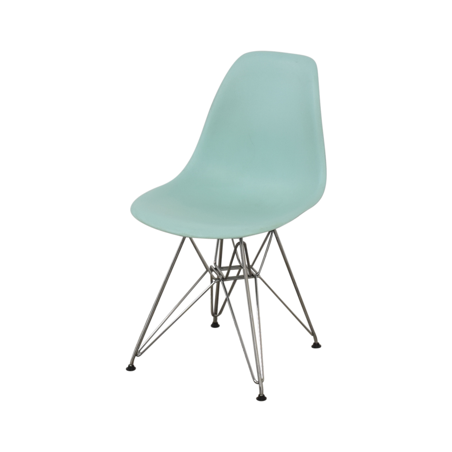 Herman Miller Herman Miller Eames Molded Plastic Side Chair with Wire Base nj
