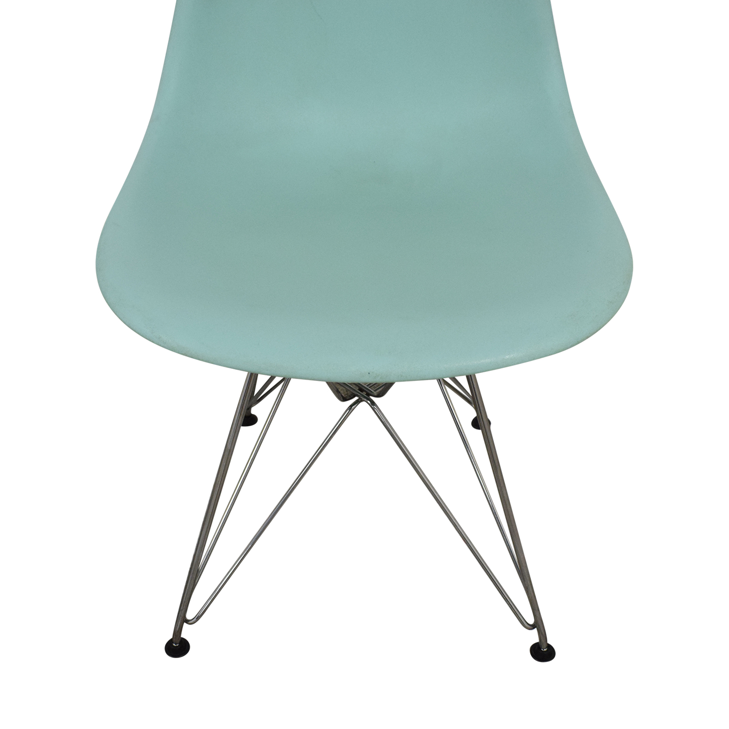 Herman Miller Eames Molded Plastic Side Chair with Wire Base sale
