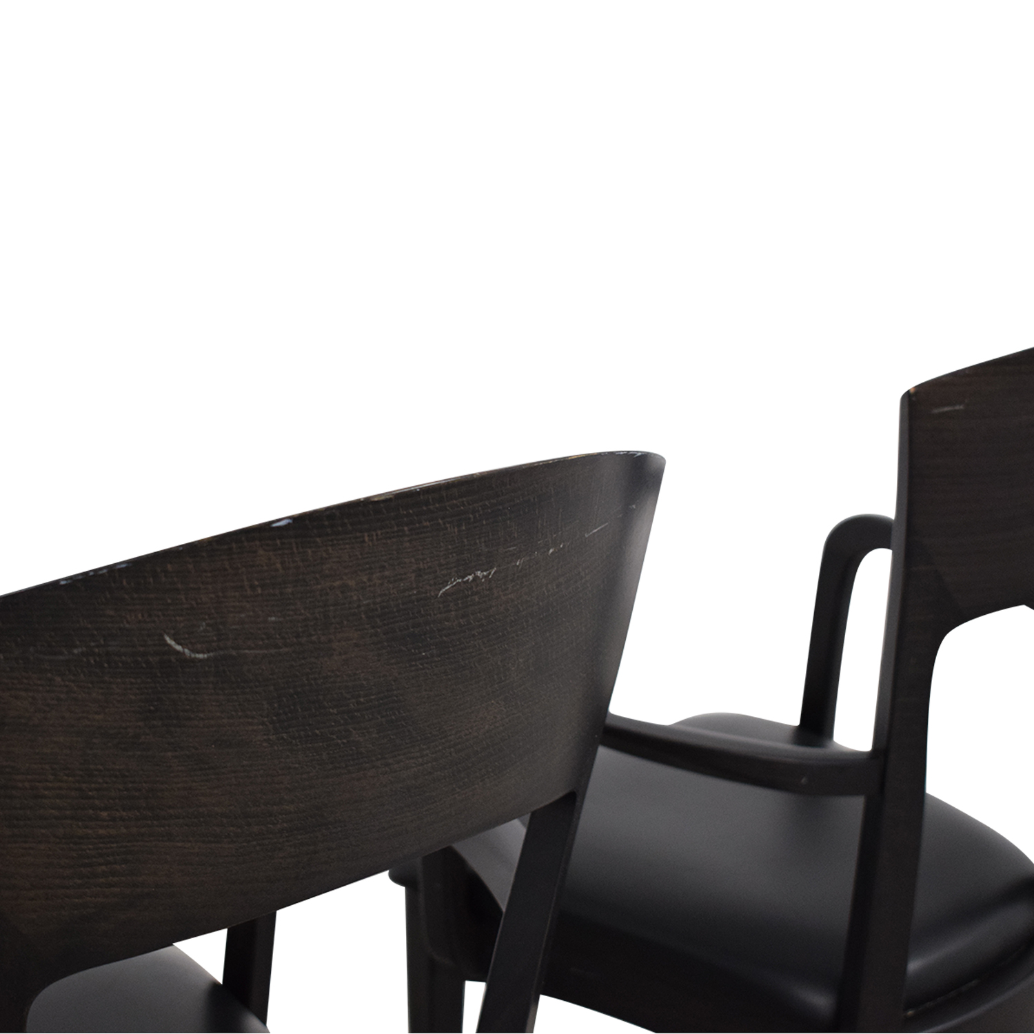 Room & Board A Sibau Dining Arm Chairs pa