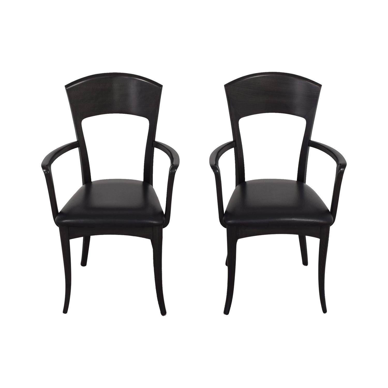 A Sibau Dining Arm Chairs Room & Board