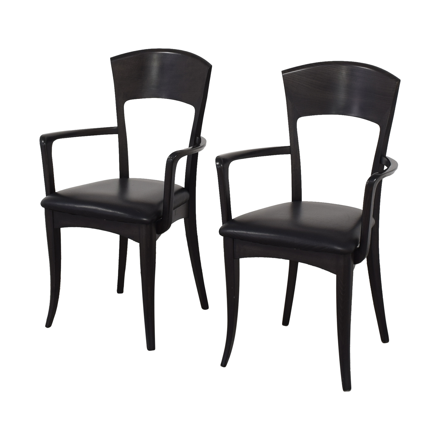 Room & Board A Sibau Dining Arm Chairs on sale