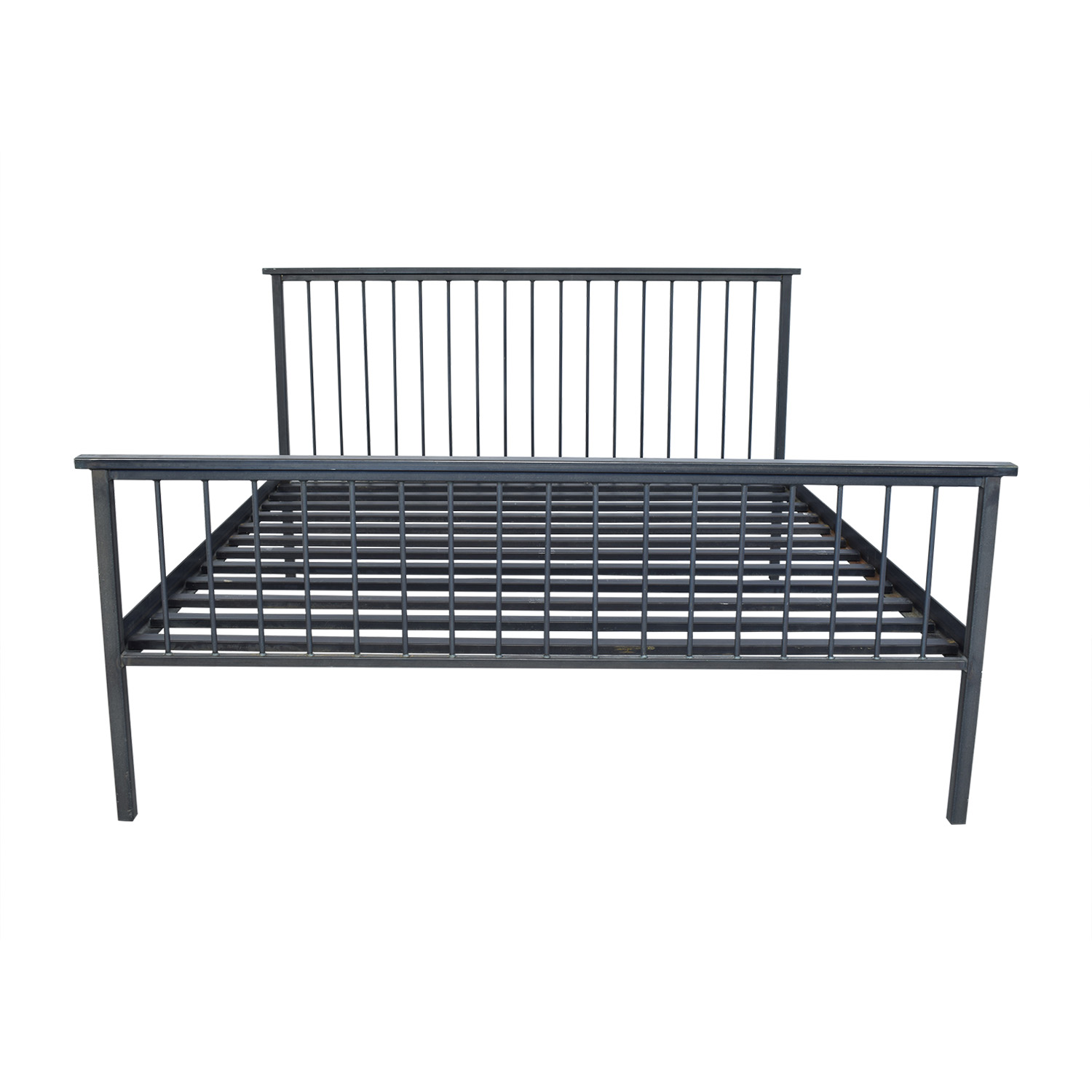 Room & Board Room & Board Mackintosh High Footboard King Bed pa