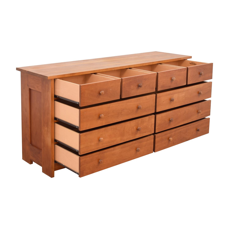 Vermont Furniture Designs Vermont Furniture Designs Ten Drawer Dresser used