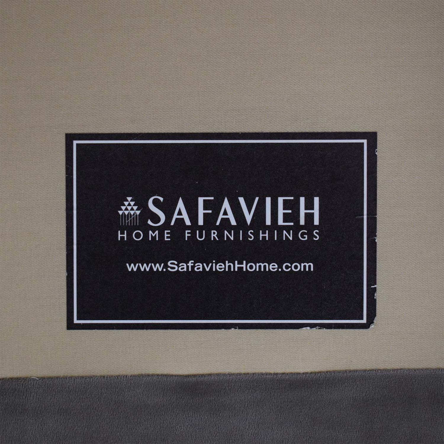Safavieh Roll Arm Velvet Sofa sale