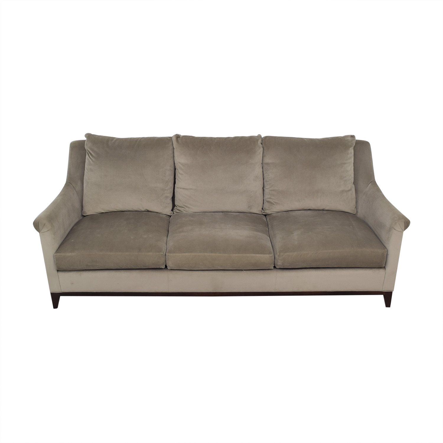 buy Safavieh Roll Arm Velvet Sofa Safavieh Sofas