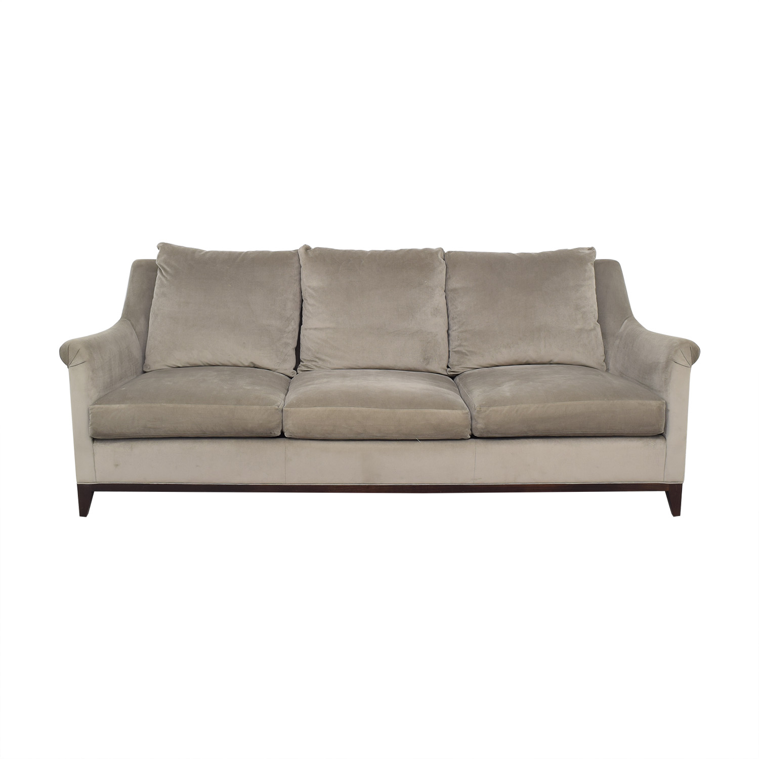 shop Safavieh Safavieh Roll Arm Velvet Sofa online