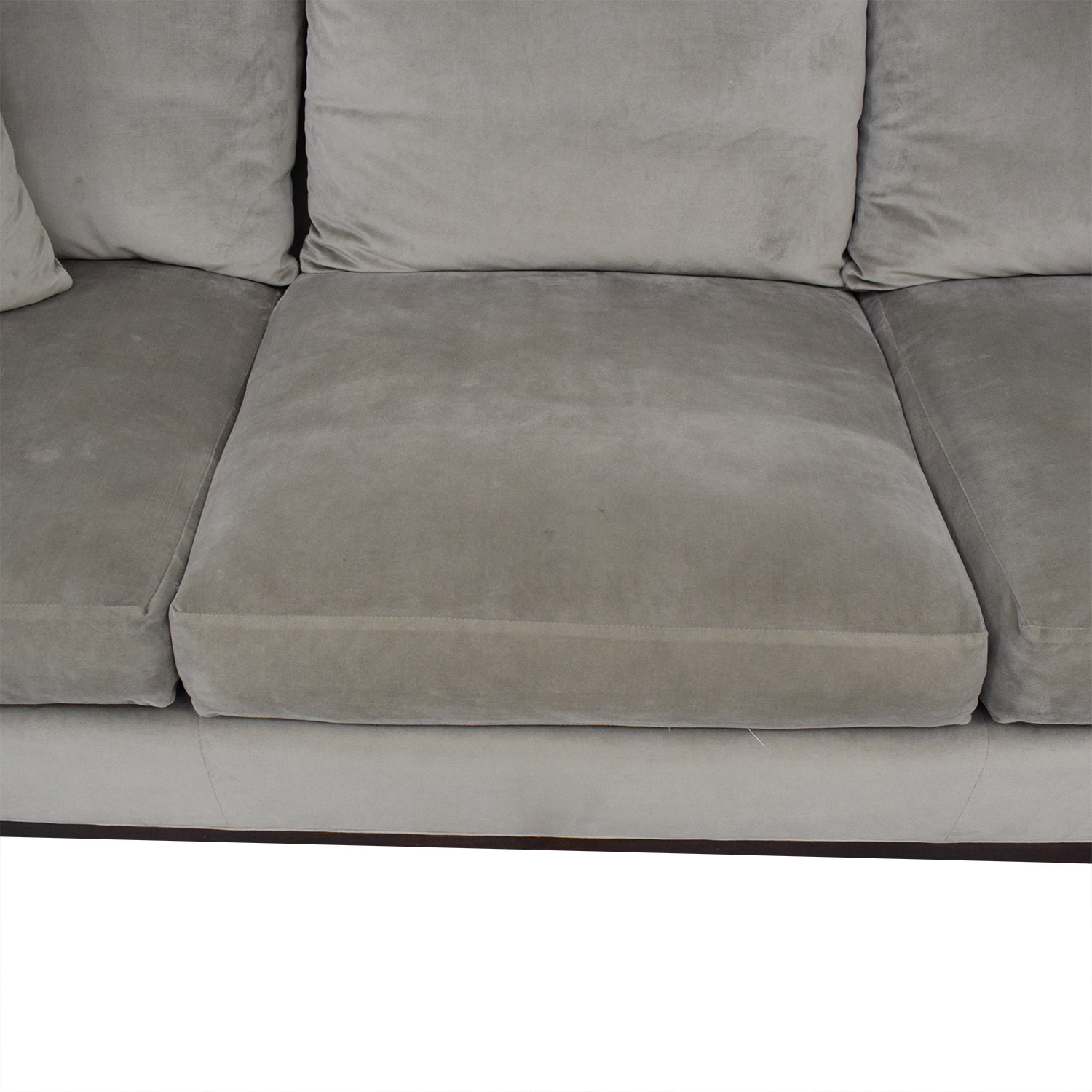 buy Safavieh Roll Arm Velvet Sofa Safavieh Classic Sofas