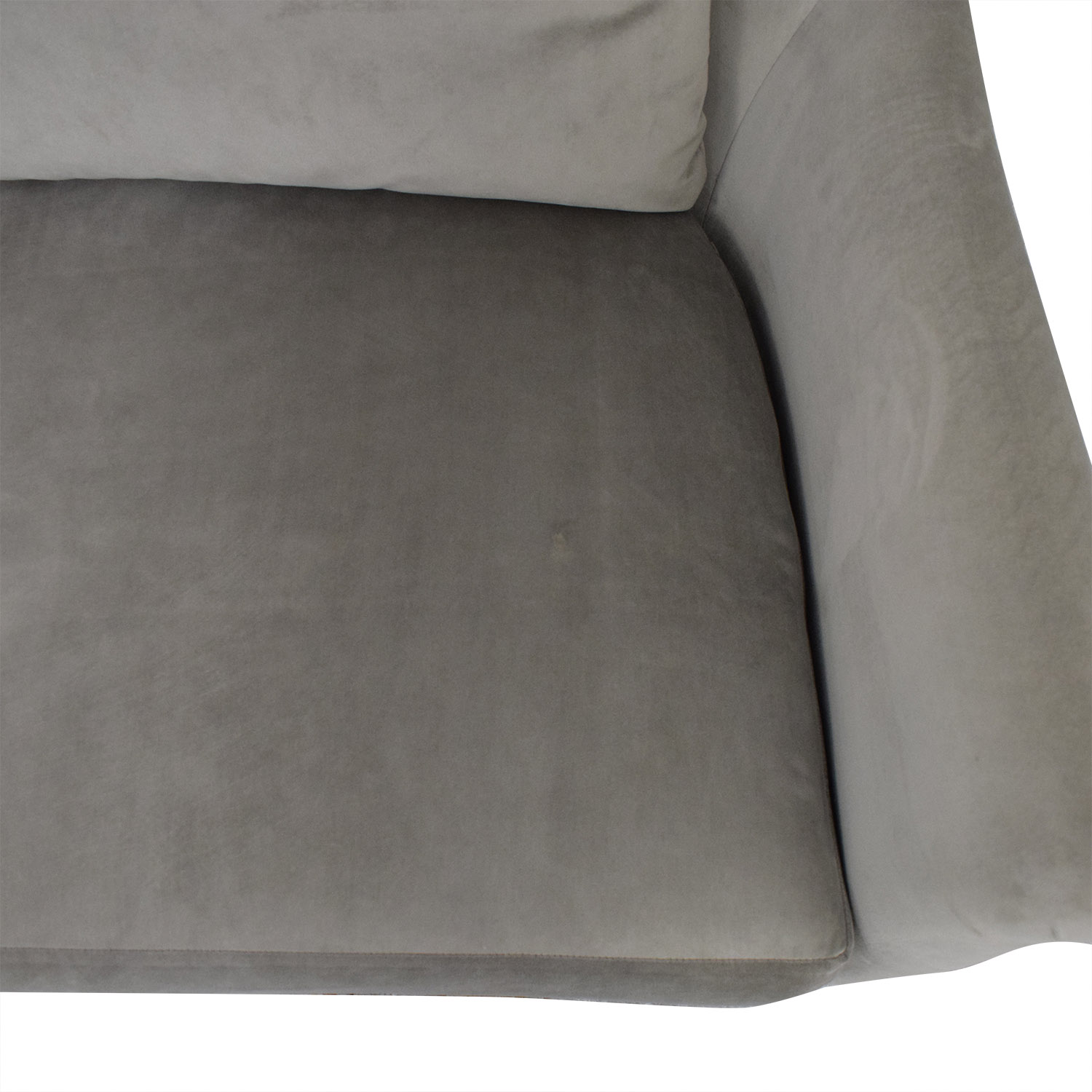 Safavieh Safavieh Roll Arm Velvet Sofa price