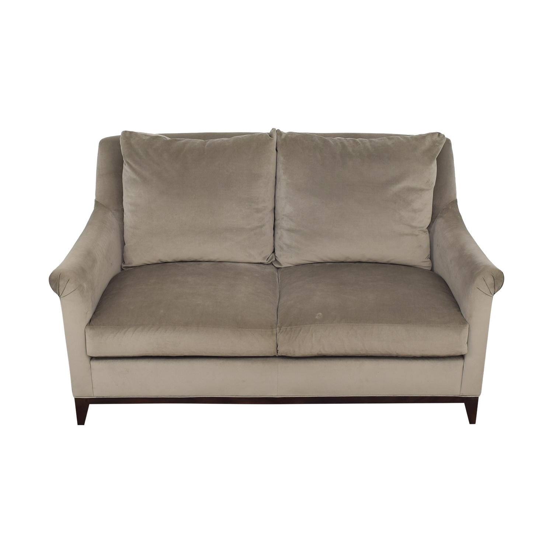 shop Safavieh Rollarm Two Cushion Loveseat Safavieh Chairs