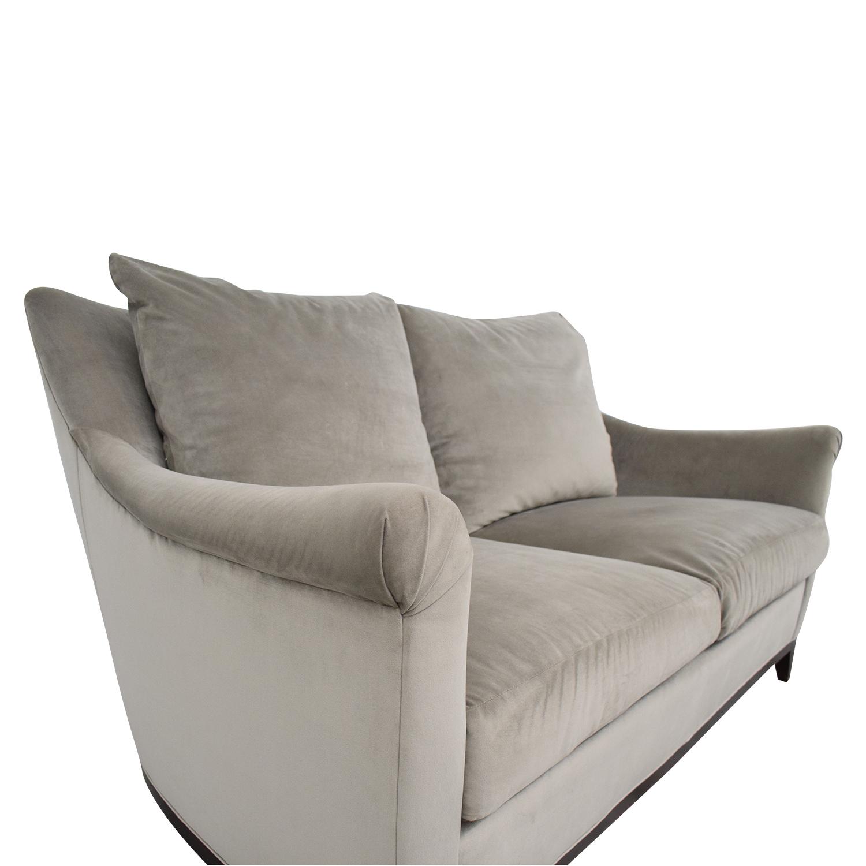 shop Safavieh Rollarm Two Cushion Loveseat Safavieh Accent Chairs