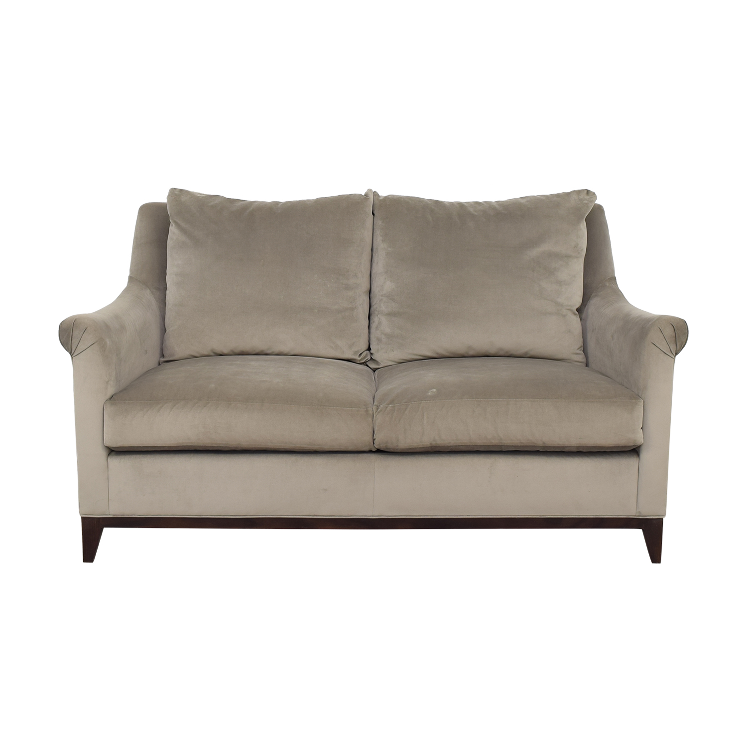 Safavieh Rollarm Two Cushion Loveseat / Chairs