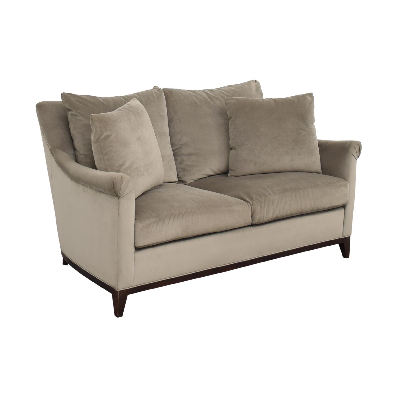 Safavieh Safavieh Rollarm Two Cushion Loveseat