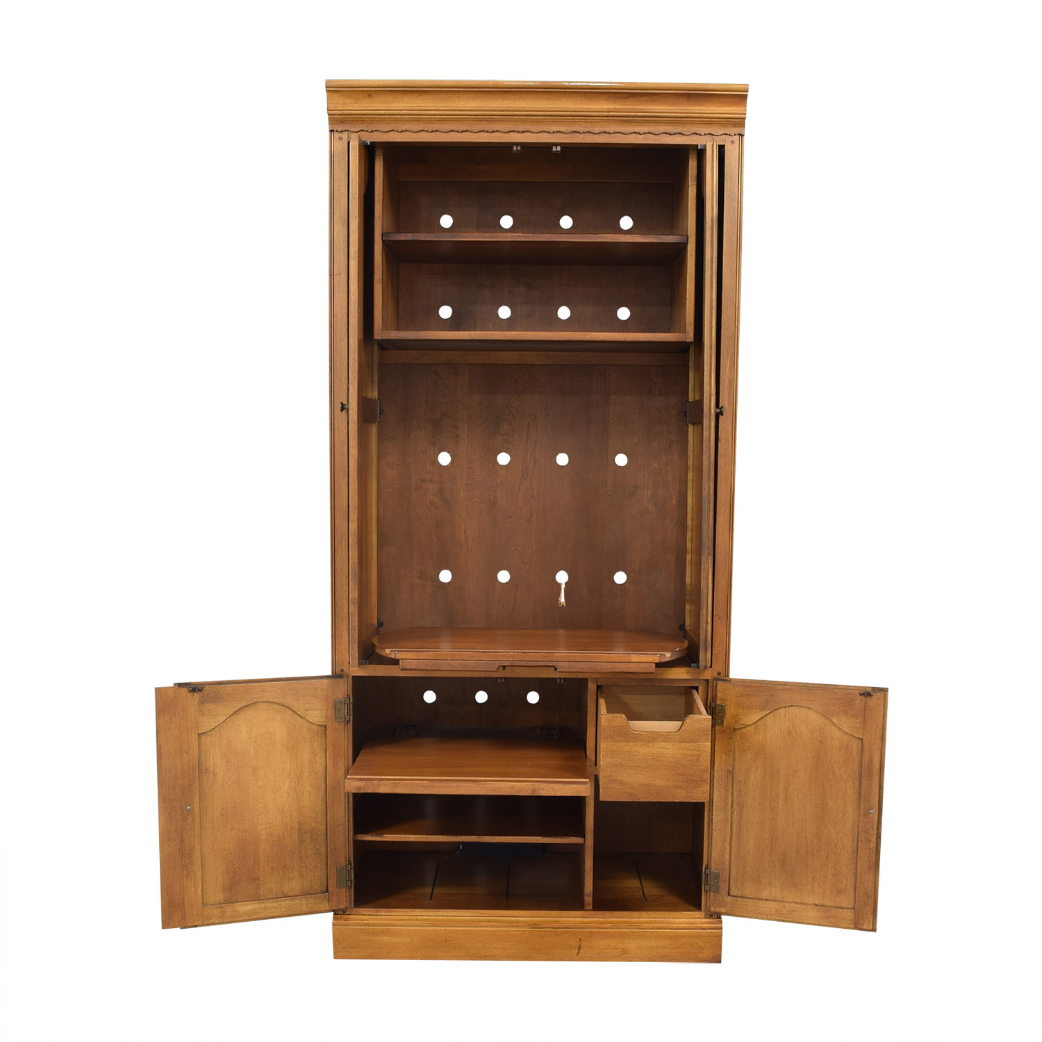 Ethan Allen Ethan Allen Entertainment Center on sale