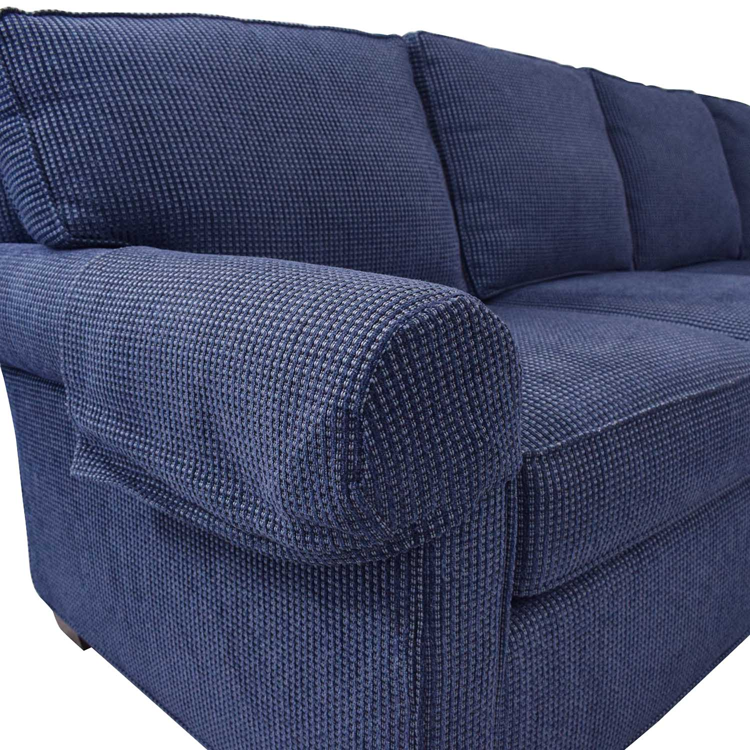 Wesley Hall Wellesley Hall Rolled Arm Sectional Sofa with Chaise ma