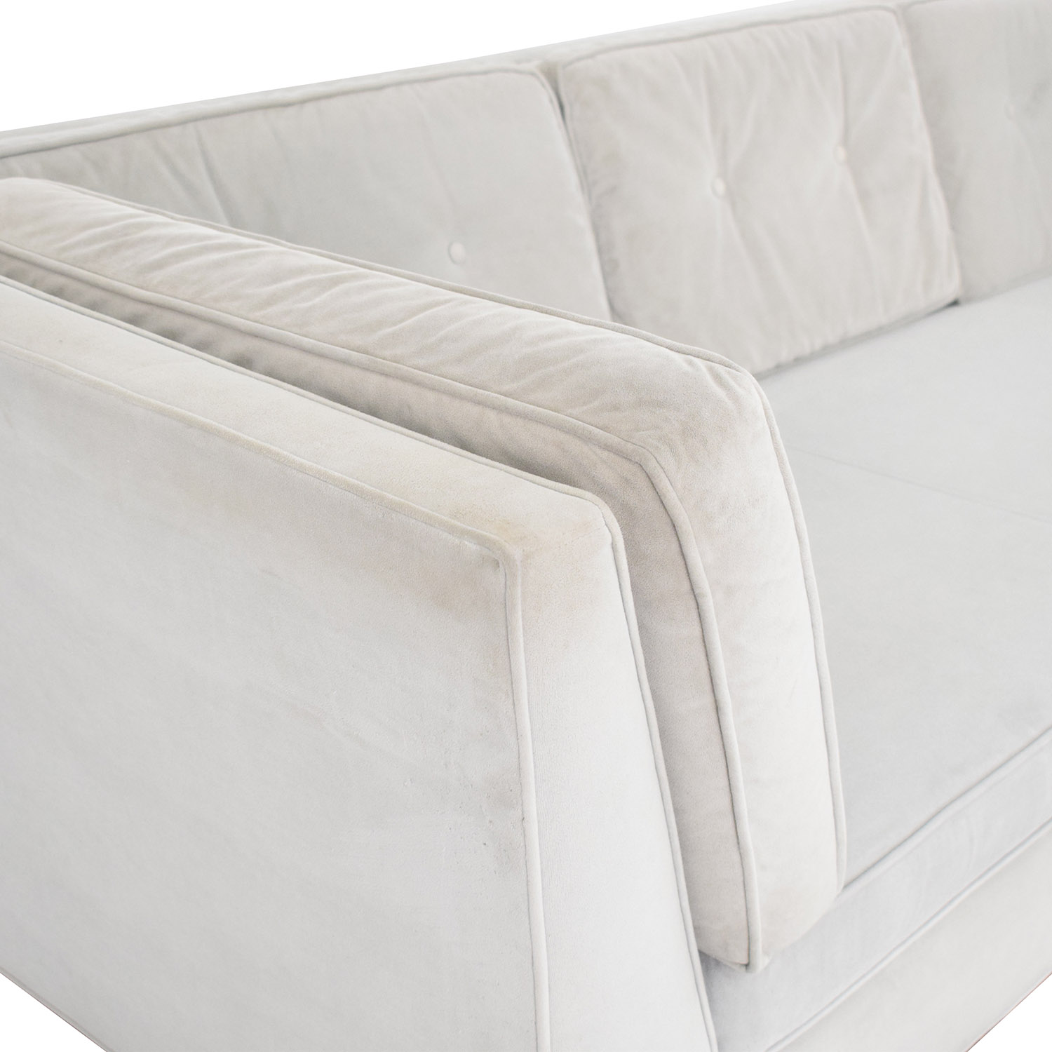 buy Room & Board Naomi Bench Cushion Sofa Room & Board Classic Sofas