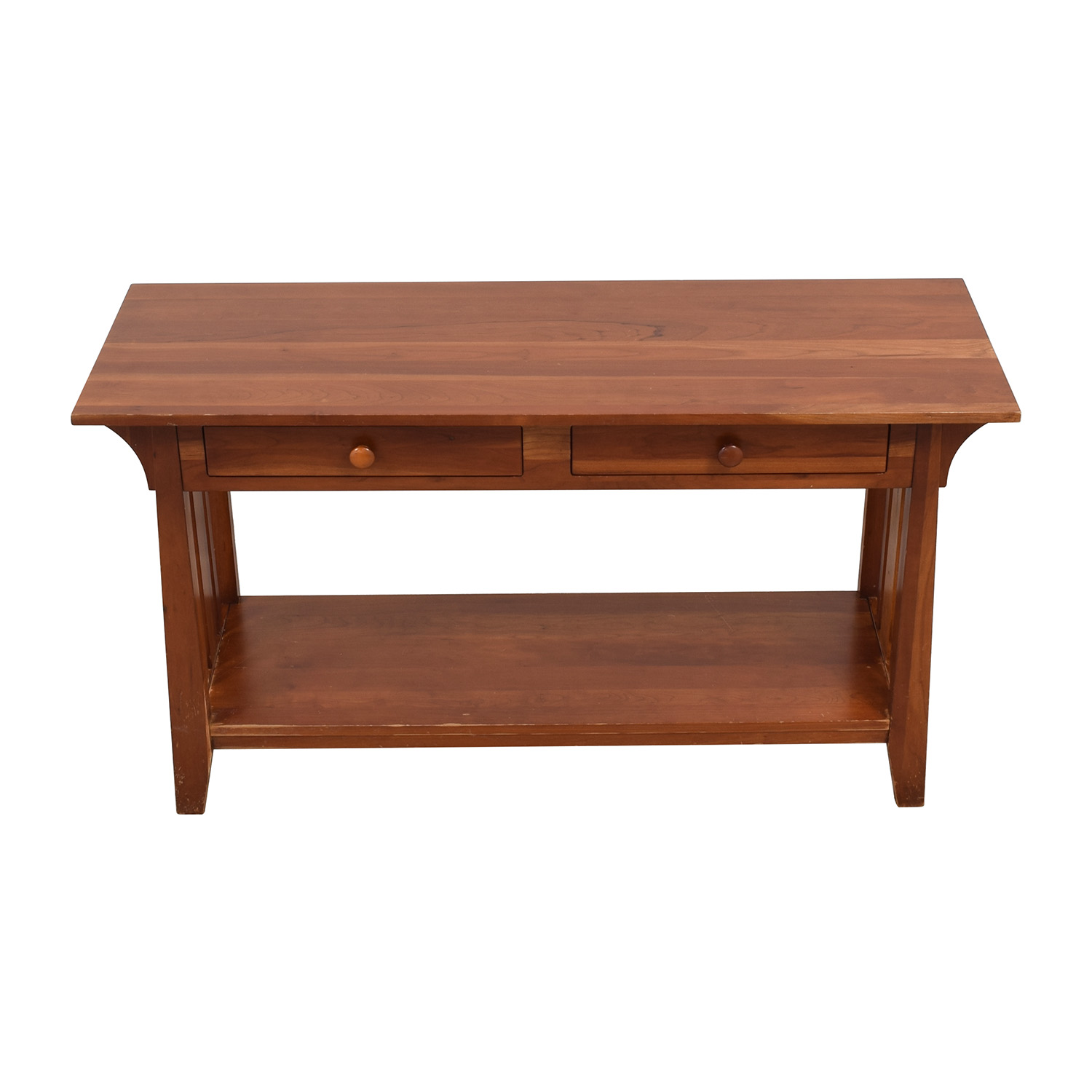 Ethan Allen Ethan Allen Console with Drawers pa