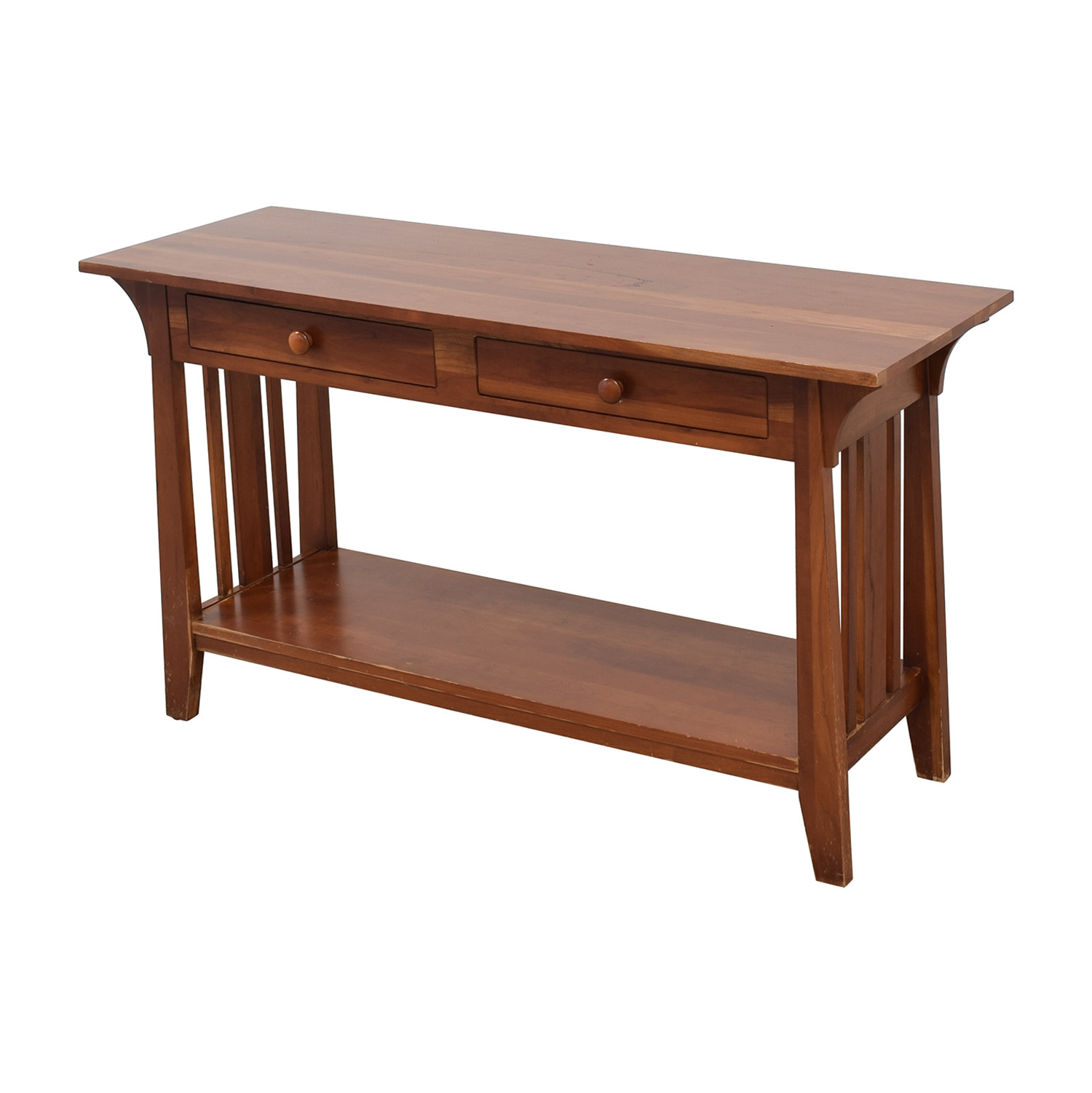 buy Ethan Allen Console with Drawers Ethan Allen Storage
