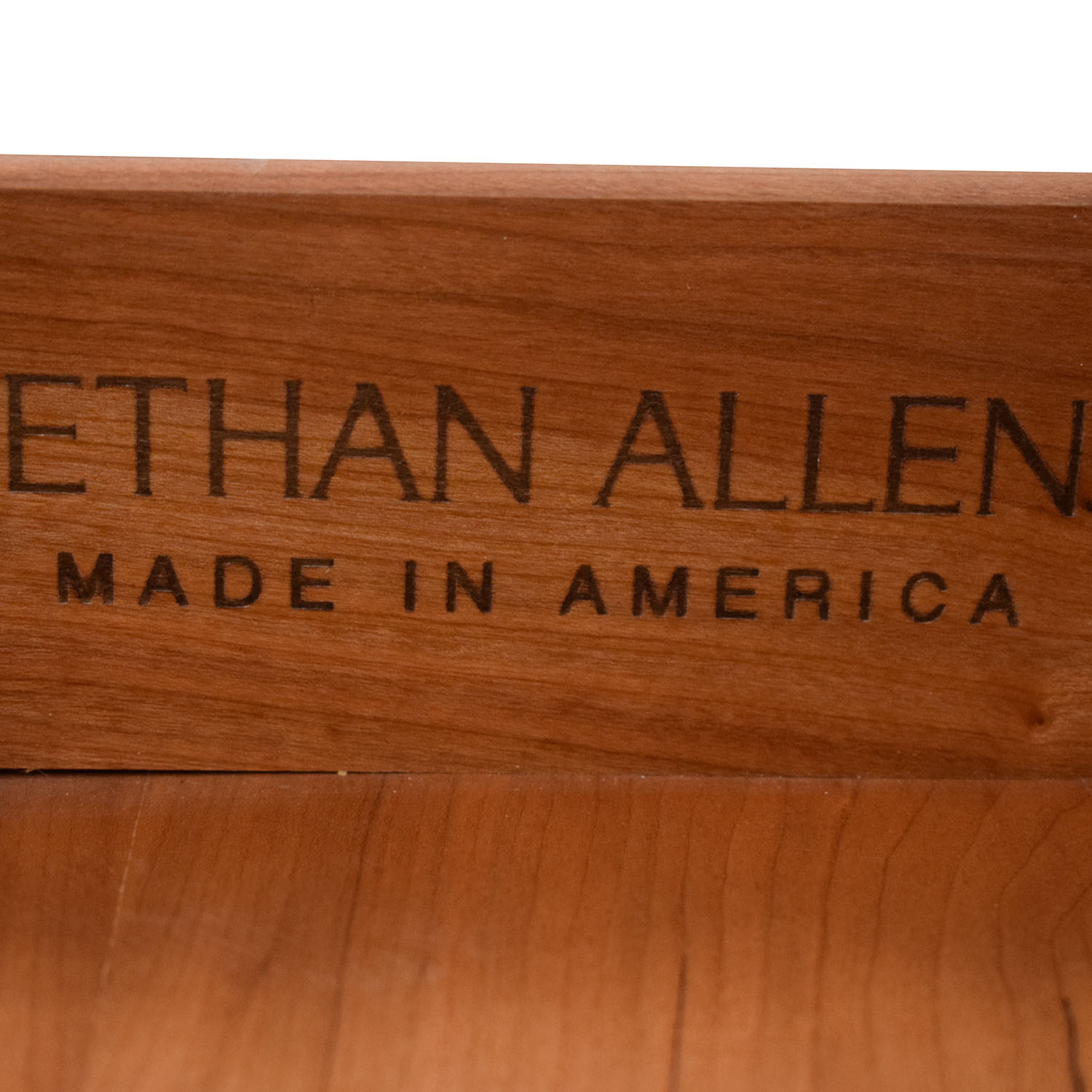 Ethan Allen Ethan Allen Console with Drawers ct