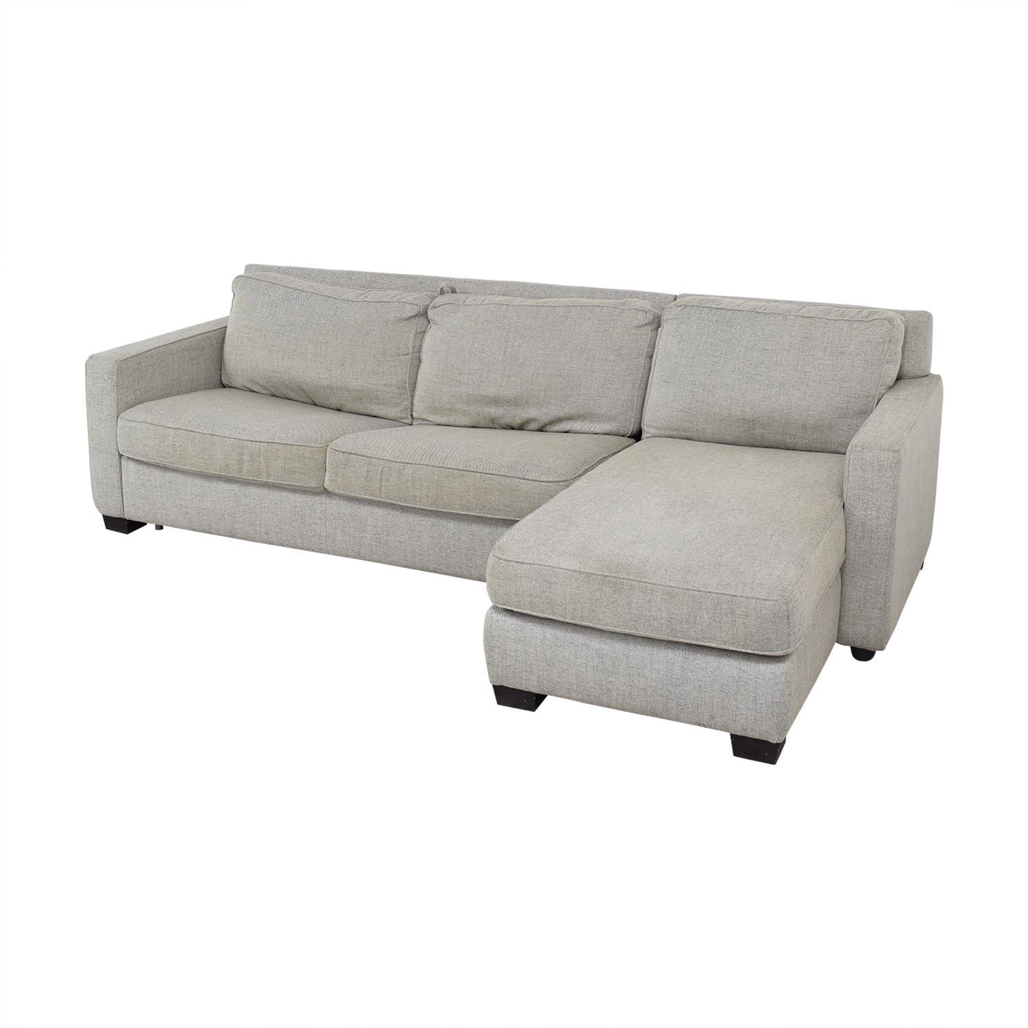 Phenomenal 43 Off West Elm West Elm Henry Two Piece Full Sleeper Sectional With Storage Sofas Alphanode Cool Chair Designs And Ideas Alphanodeonline