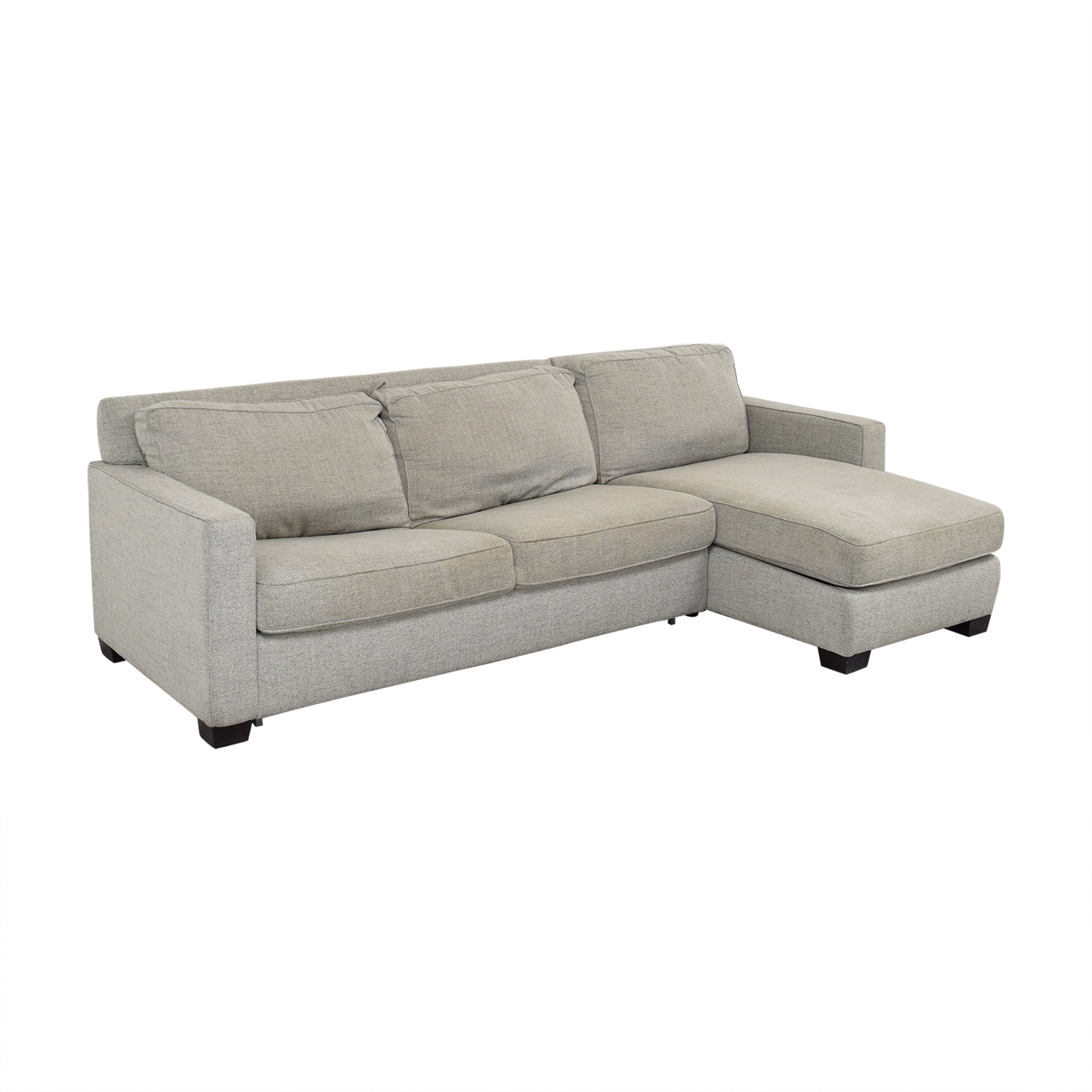 Wondrous 43 Off West Elm West Elm Henry Two Piece Full Sleeper Sectional With Storage Sofas Alphanode Cool Chair Designs And Ideas Alphanodeonline