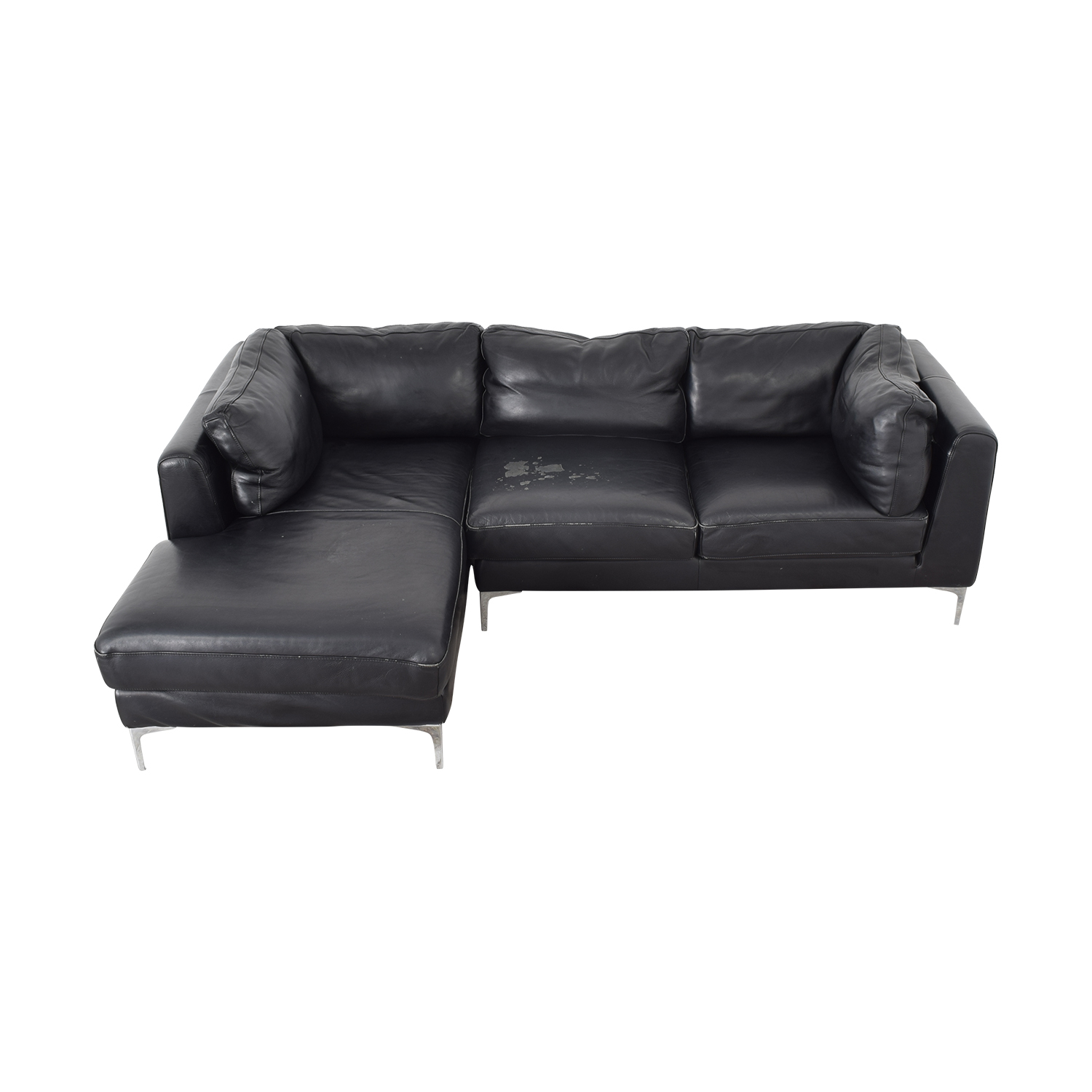 Design Within Reach Design Within Reach Albert Sectional Sofa black