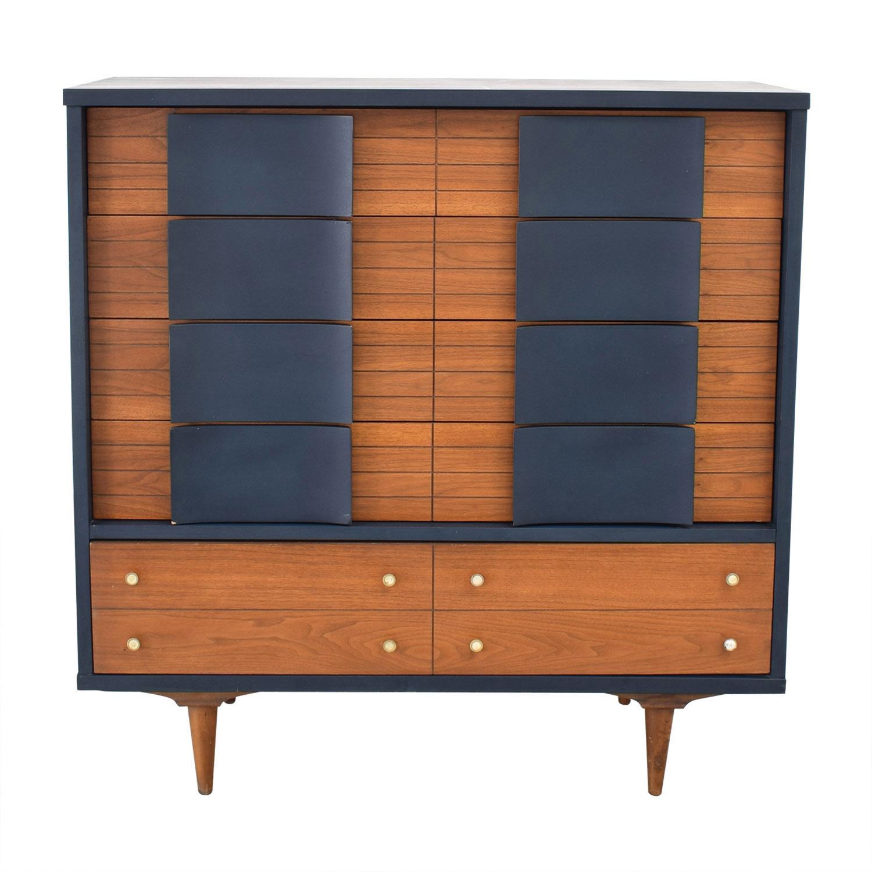 buy  Restored Vintage Five Drawer Dresser online