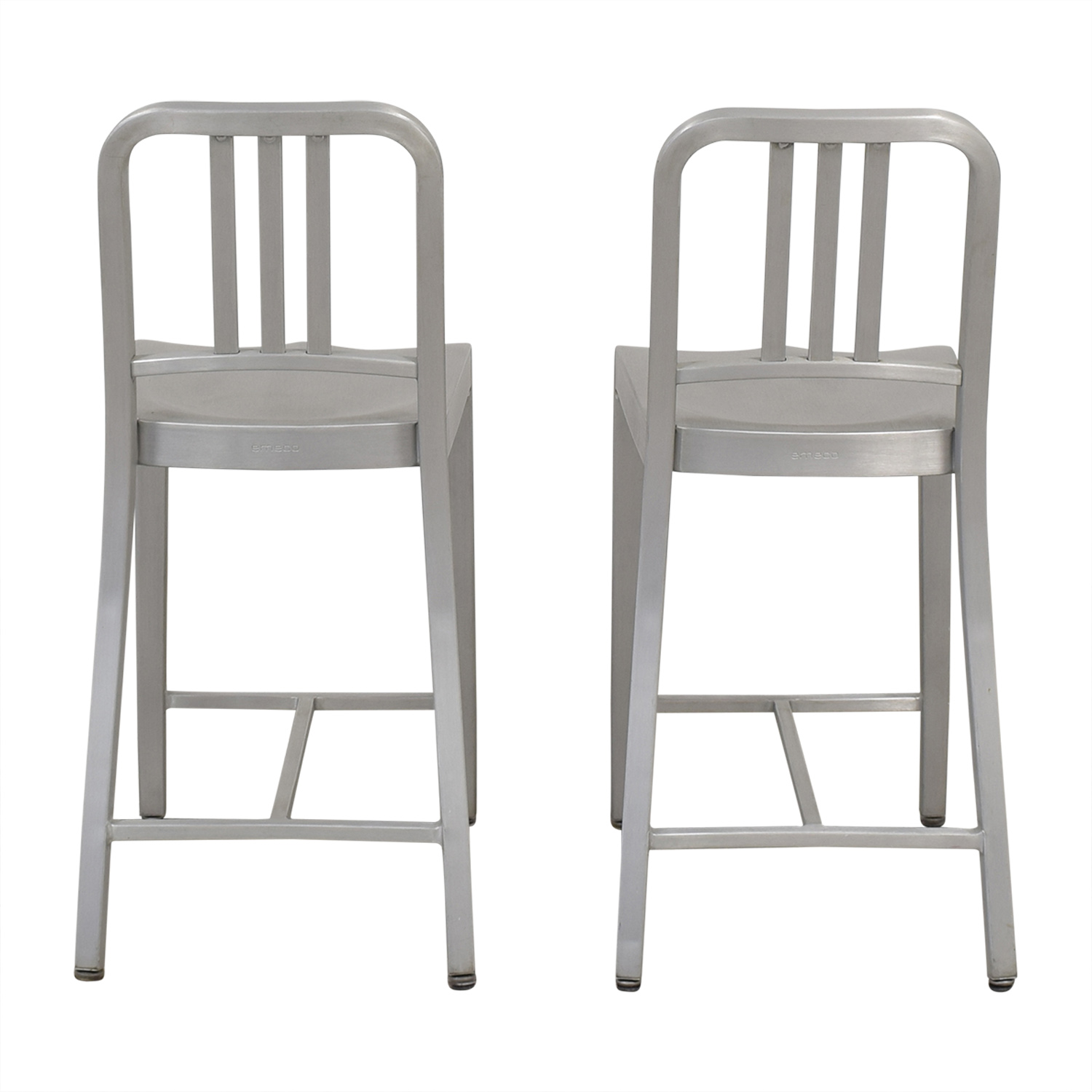 Design Within Reach 1006 Navy Counter Stools / Stools