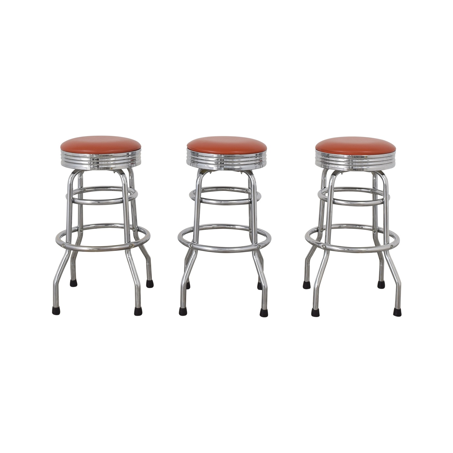 Retro Diner Bar Stools second hand