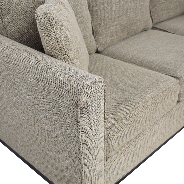 Dwell Home Furnishings Dwell Home Furnishings Sectional Sofa beige