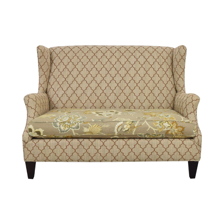 Outstanding 74 Off Sam Moore Sam Moore Multi Print Loveseat Sofas Machost Co Dining Chair Design Ideas Machostcouk