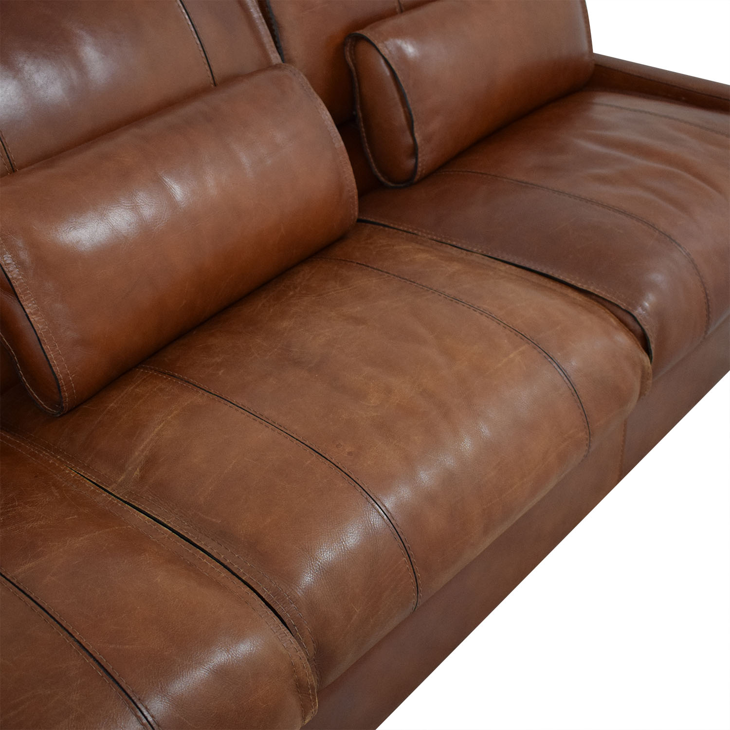 Modern Italian Leather Sofa ma