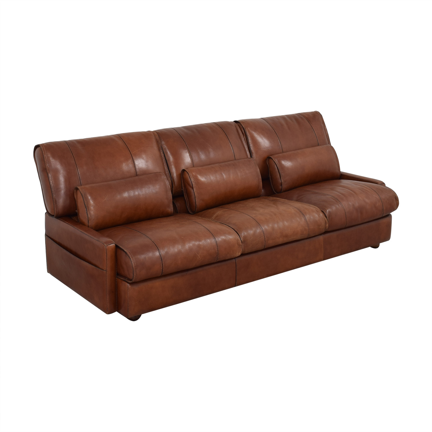 Modern Italian Leather Sofa sale