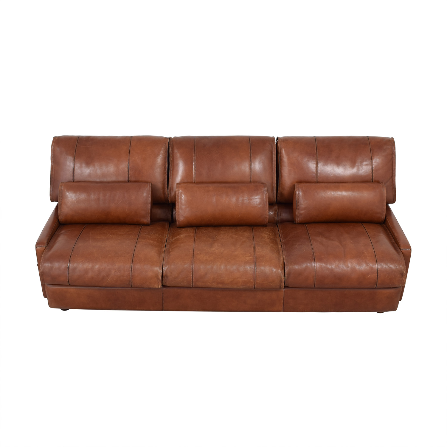 Modern Italian Leather Sofa