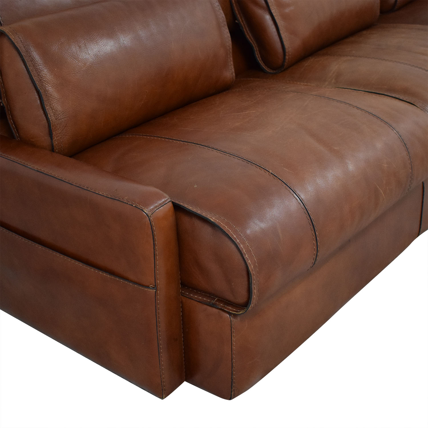 Modern Italian Leather Sofa dimensions