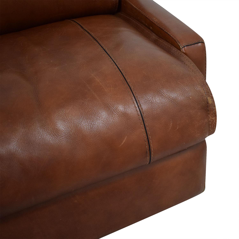 75% OFF - Modern Italian Leather Sofa / Sofas