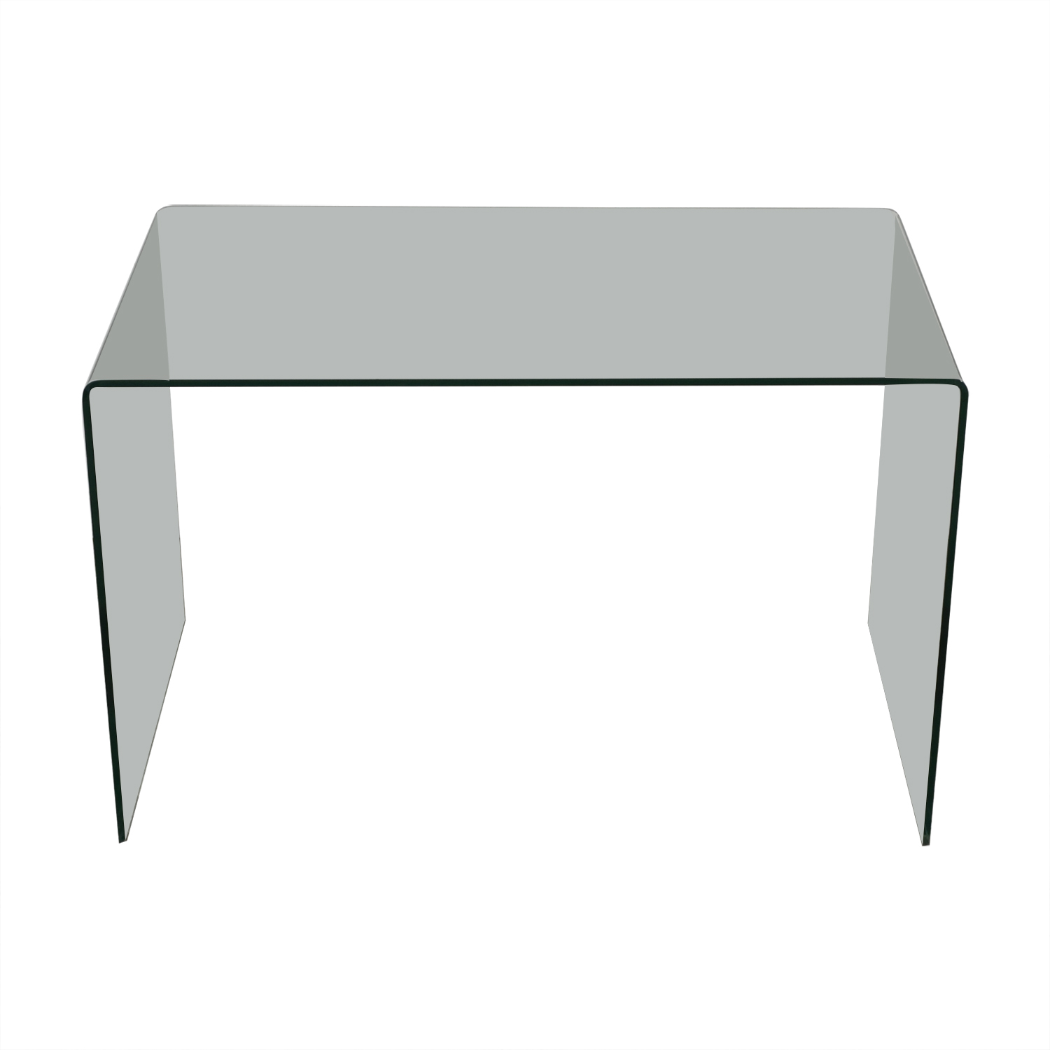 One-Piece Transparent Office Table discount