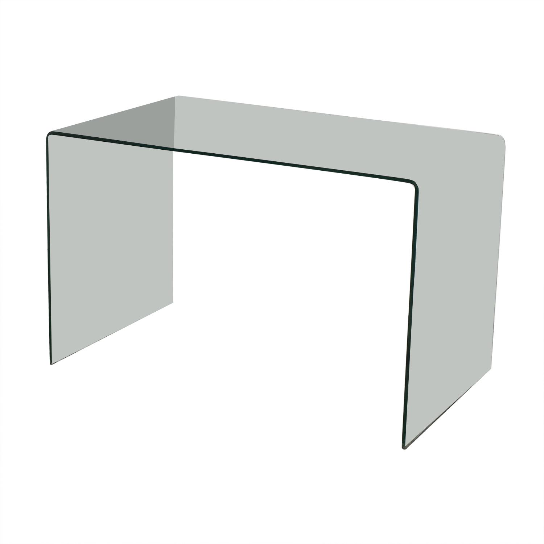 shop One-Piece Transparent Office Table