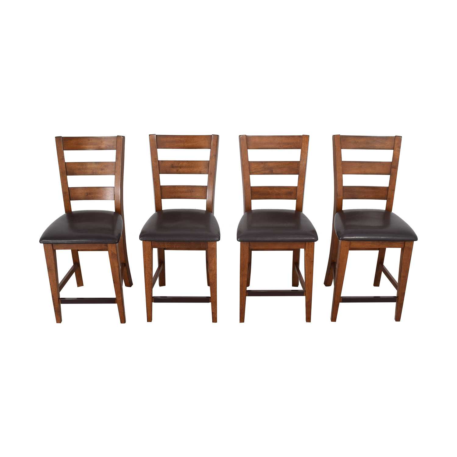 American Signature Ladder Back Dining Chairs American Signature