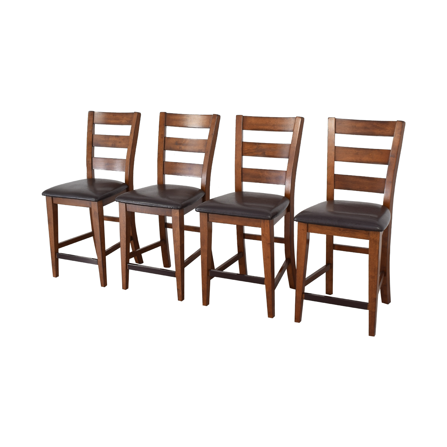 American Signature American Signature Ladder Back Dining Chairs used