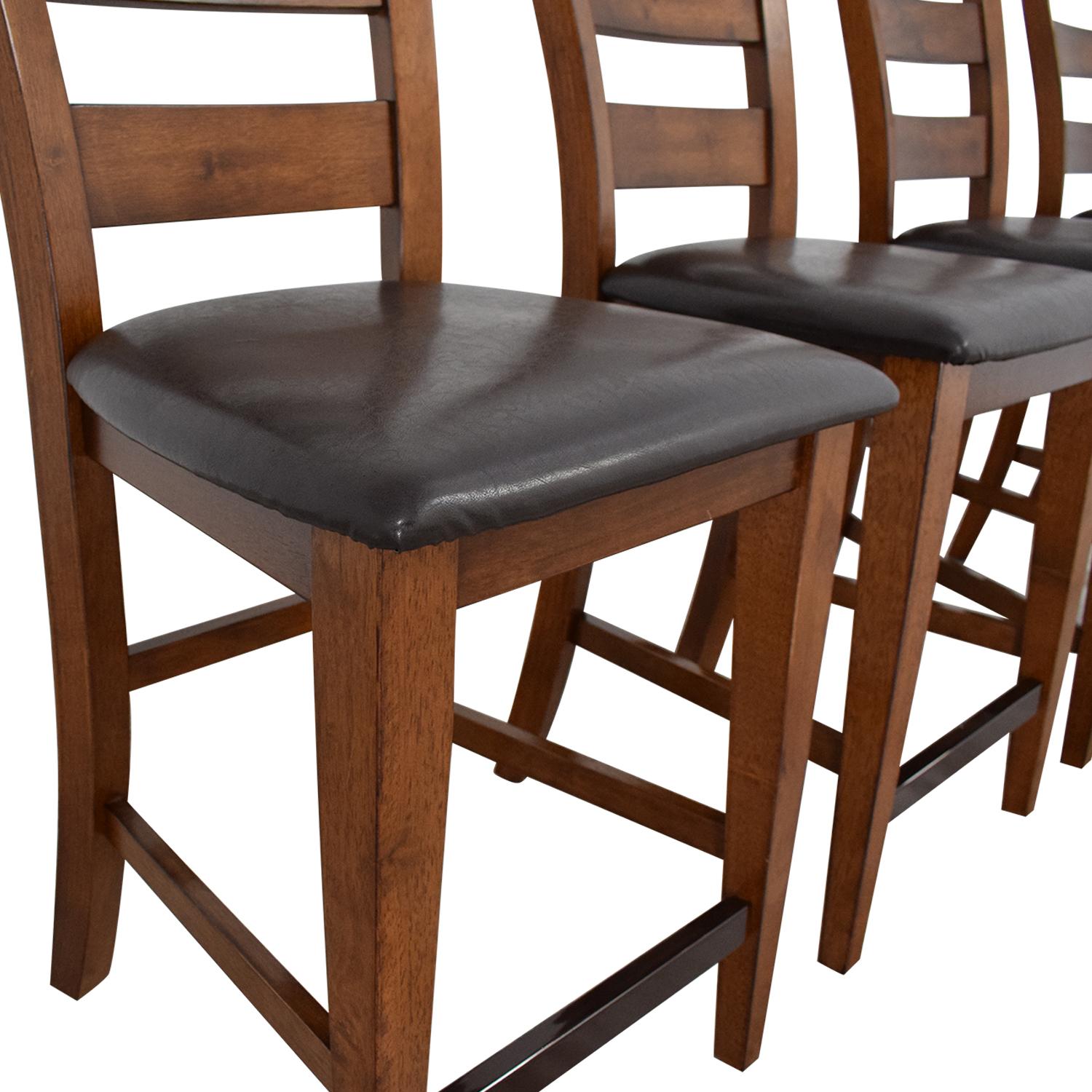American Signature American Signature Ladder Back Dining Chairs ct