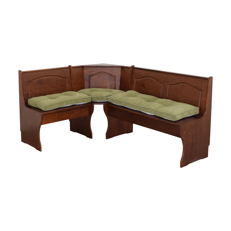 Linon Home Decor Linon Home Decor Breakfast Bench with Storage dimensions