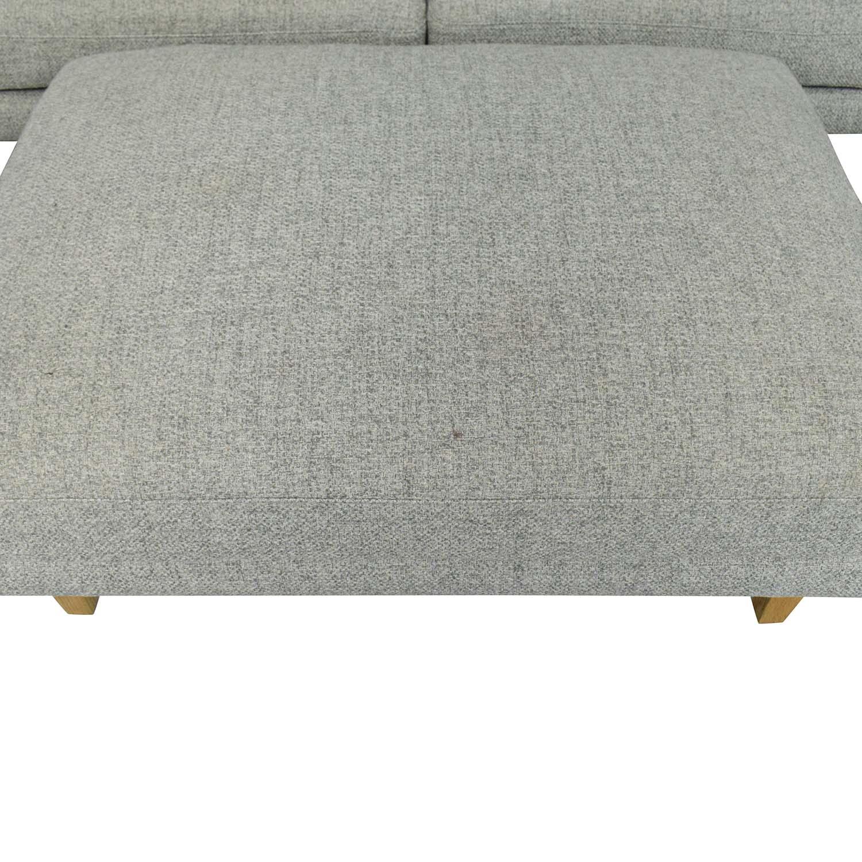 Interior Define Interior Define Maxwell Sofa and Ottoman nyc