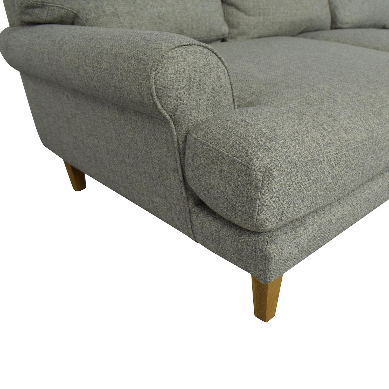 shop Interior Define Maxwell Sofa and Ottoman Interior Define