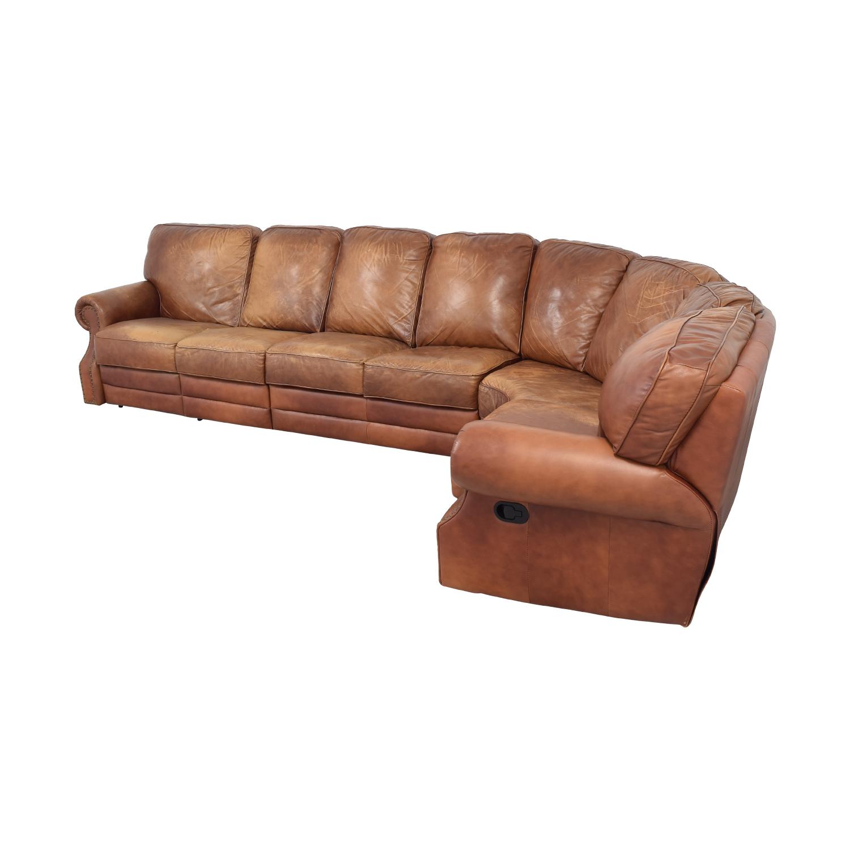DeCoro DeCoro Leather Sectional Sofa Sectionals