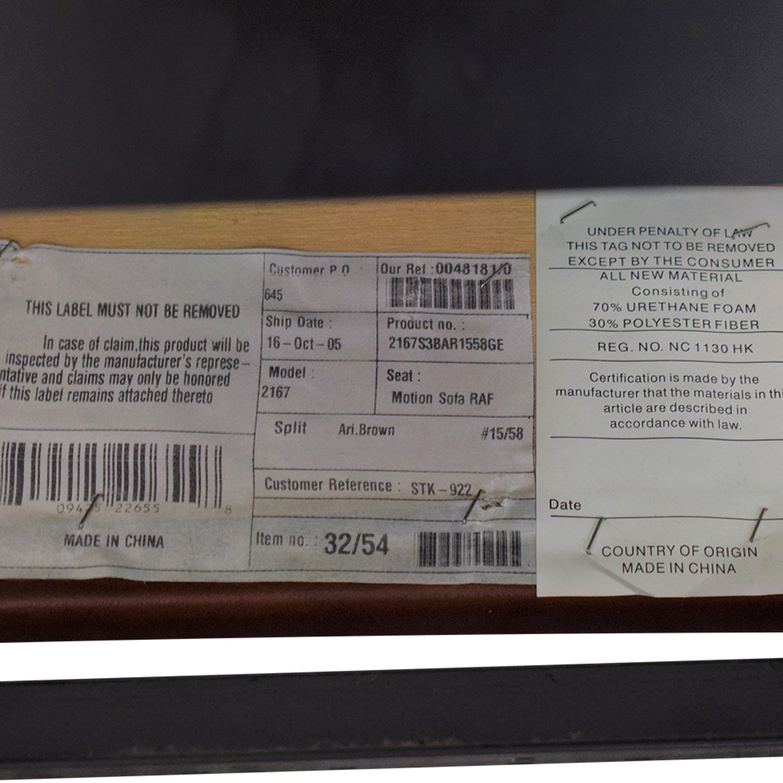DeCoro Leather Sectional Sofa sale
