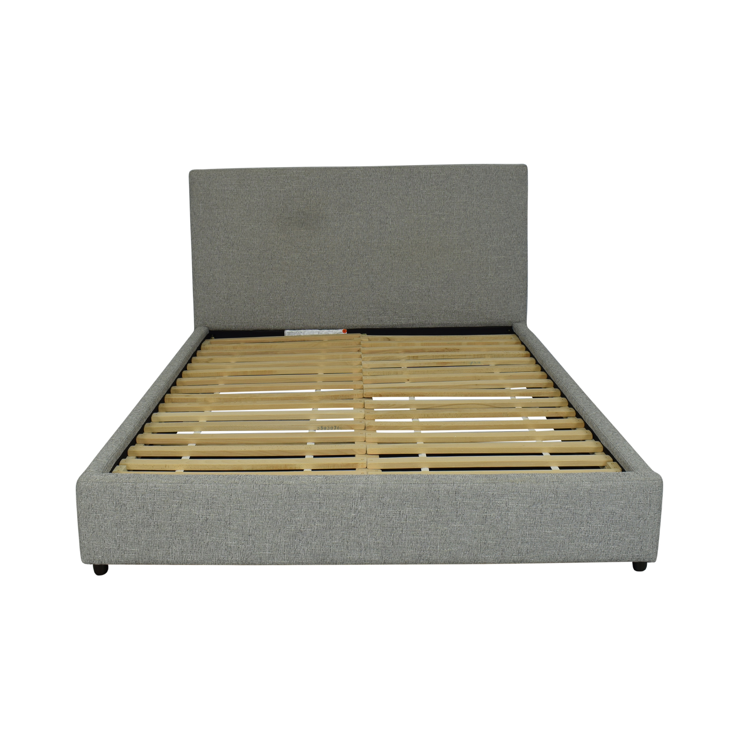West Elm West Elm Contemporary Upholstered Storage Queen Bed price