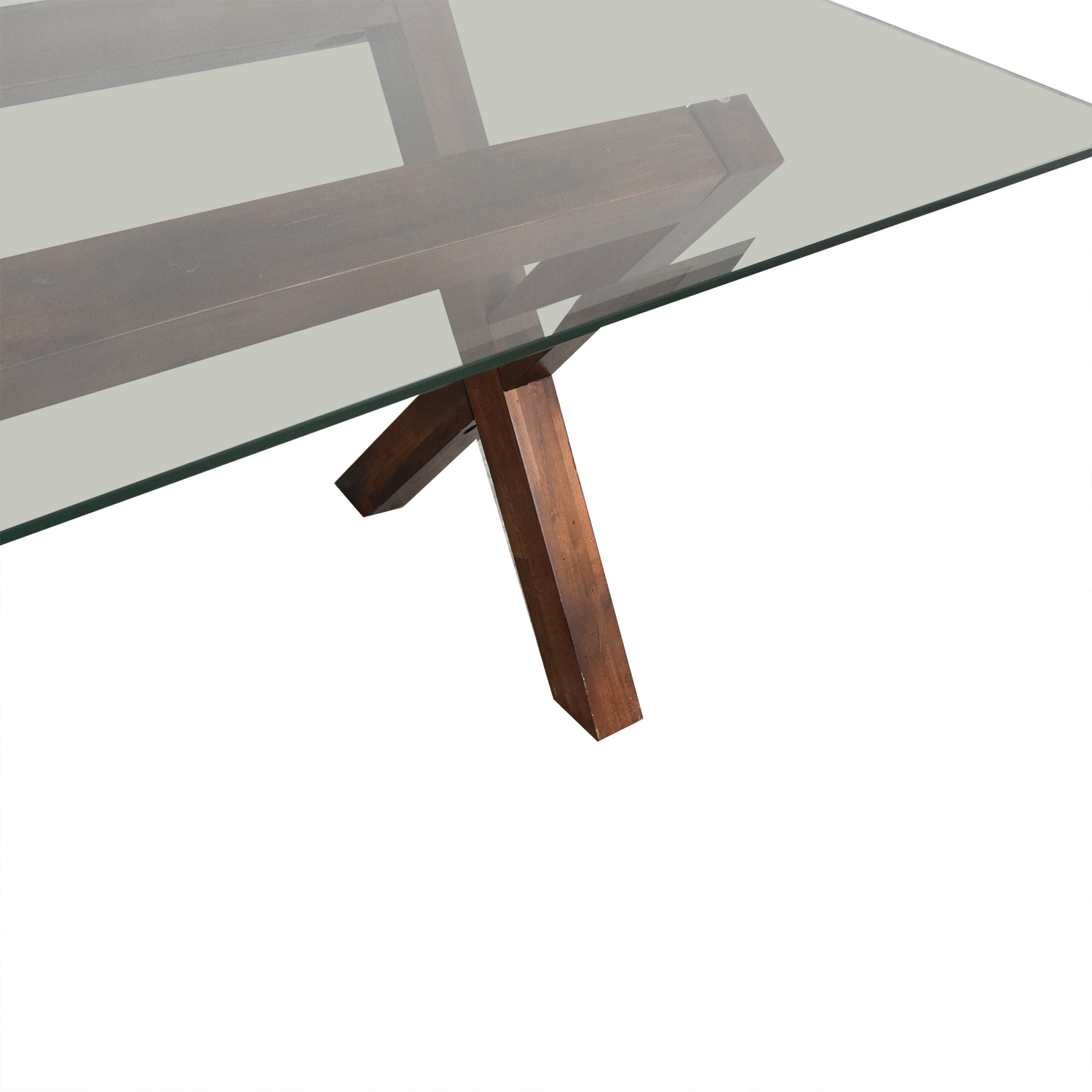 West Elm West Elm Transparent Dining Table nyc