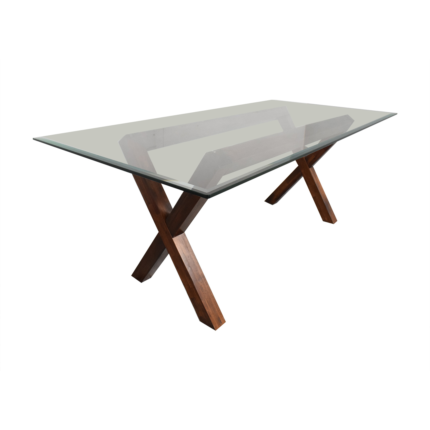 West Elm West Elm Transparent Dining Table pa
